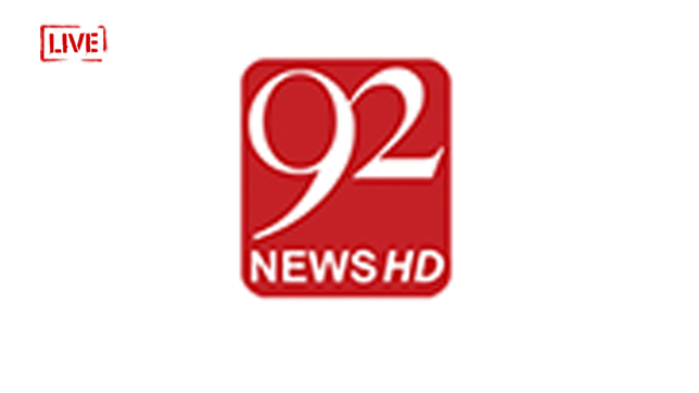 Watch 92 News HD TV Live Streaming Pakistan News Channel
